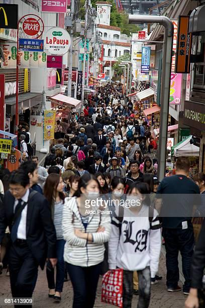 Japan, Tokyo, Takeshita Dori