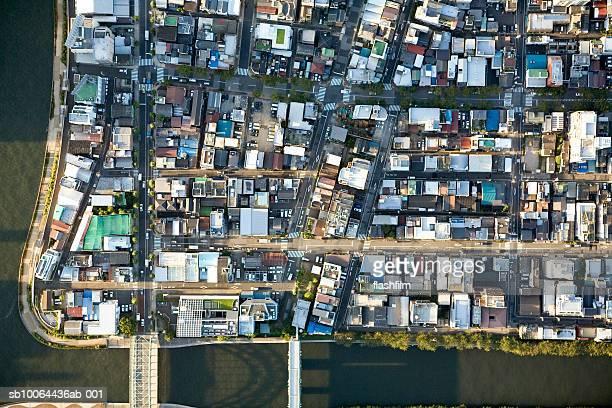 Japan, Tokyo, Tokiwa, aerial view