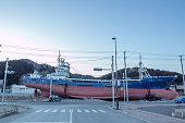 Japan Tsunami Earthquake 2011  Kesenuma Ship Kyotokumaru