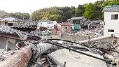 Japan Tsunami Earthquake 2011 Ohama village destruction