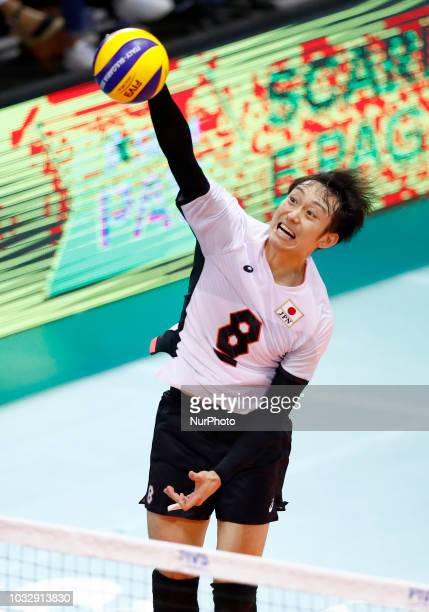Japan v Dominican Republic FIVP Men's World Championship Masahiro Yanagida of Japan at Mandela Forum in Florence Italy on September 13 2018