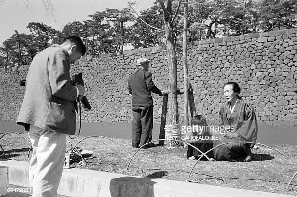 Wedding Of Prince Akihito And Miss Michiko Shoda In April 1959 Japon Tokyo 13 avril 1959 le prince AKIHITO fils de l'empereur du Japon épouse MICHIKO...