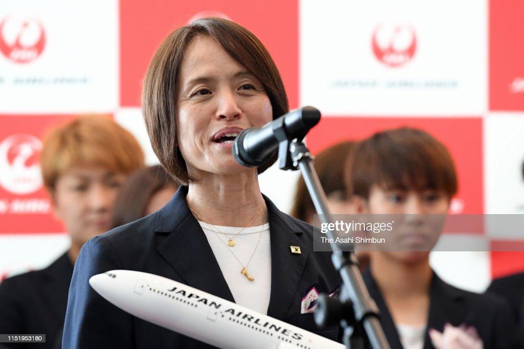 JPN: Japan Women's National Team Departs For France