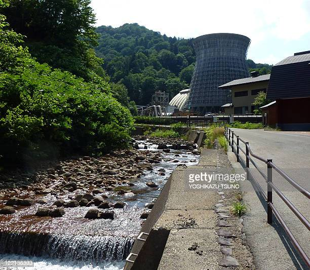 STORY JapandisasteraccidentnuclearenergygeothermalFOCUS BY The Matsukawa geothermal power plant Japan's first geothermal plant built in 1966 is seen...