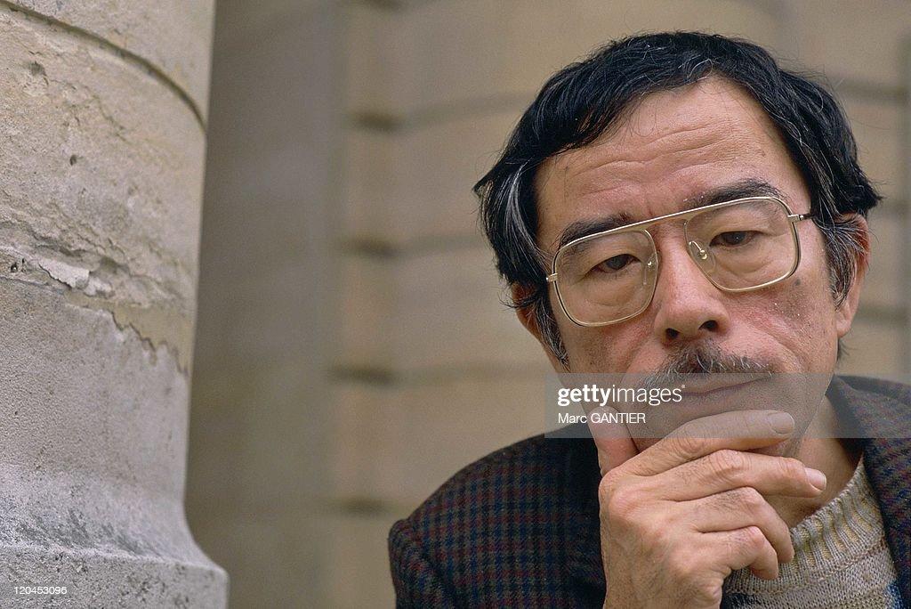 Japanease Writer Akiyuki Nosaka In 1988 - : News Photo