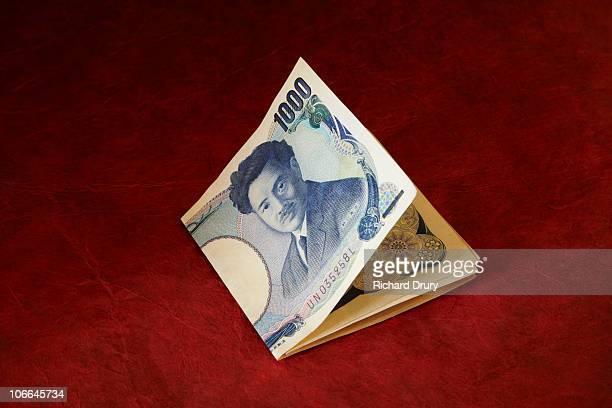 Japanese 1000 Yen bank notes