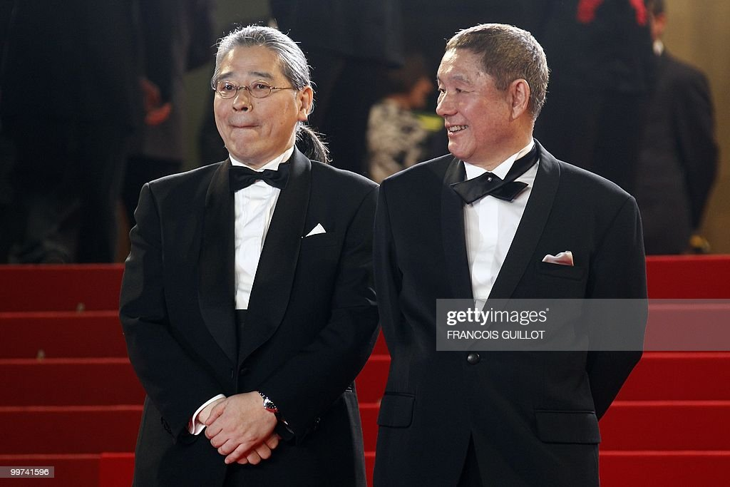 Japanese actor and director Takeshi Kita : News Photo