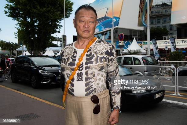 Japanese actor CaryHiroyuki Tagawa is seen during the 71st annual Cannes Film Festival at on May 8 2018 in Cannes France