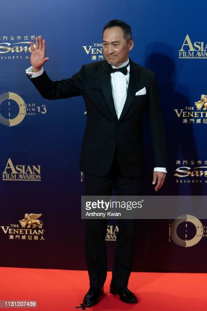 Japanese actor Ken Watanabe attends the 13th Asian Film Awards on March 17 2019 in Hong Kong Hong Kong