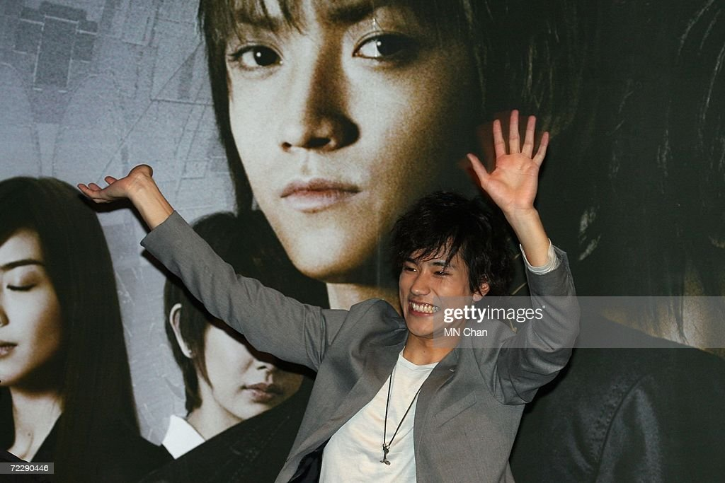 Japanese actor Kenichi Matsuyama greets his fans during a promotion of their new movie ' Death Note: The Last Name ' on October 28, 2006 in Hong Kong, China. The first installment of the movie topped the Japanese box office for two straight weeks, and the new movie is scheduled to premiere on November 3, 2006.