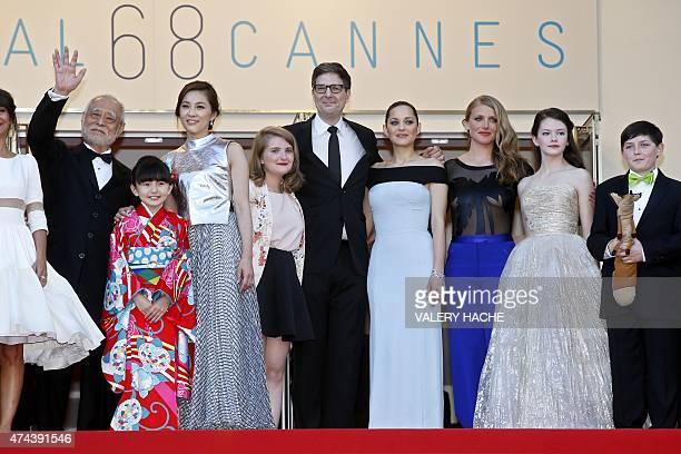 Japanese actor Masahiko Tsugawa Japanese actress Rio Suzuki Japanese actress Asaka Seto French actress Clara Poincare US director Mark Osborne French...