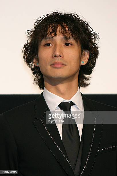 Japanese actor Masanobu Ando attends the 'Forever Enthralled' Japan Premiere at Shinjuku Piccadilly on February 25 2009 in Tokyo Japan The film will...