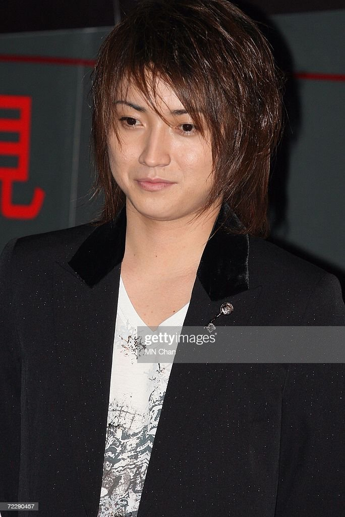 Japanese actor Tatsuya Fujiwara attends a promotion of his new movie ' Death Note: The Last Name ' on October 28, 2006 in Hong Kong, China. The first installment of the movie topped the Japanese box office for two straight weeks, and the new movie is scheduled to premiere on November 3, 2006.