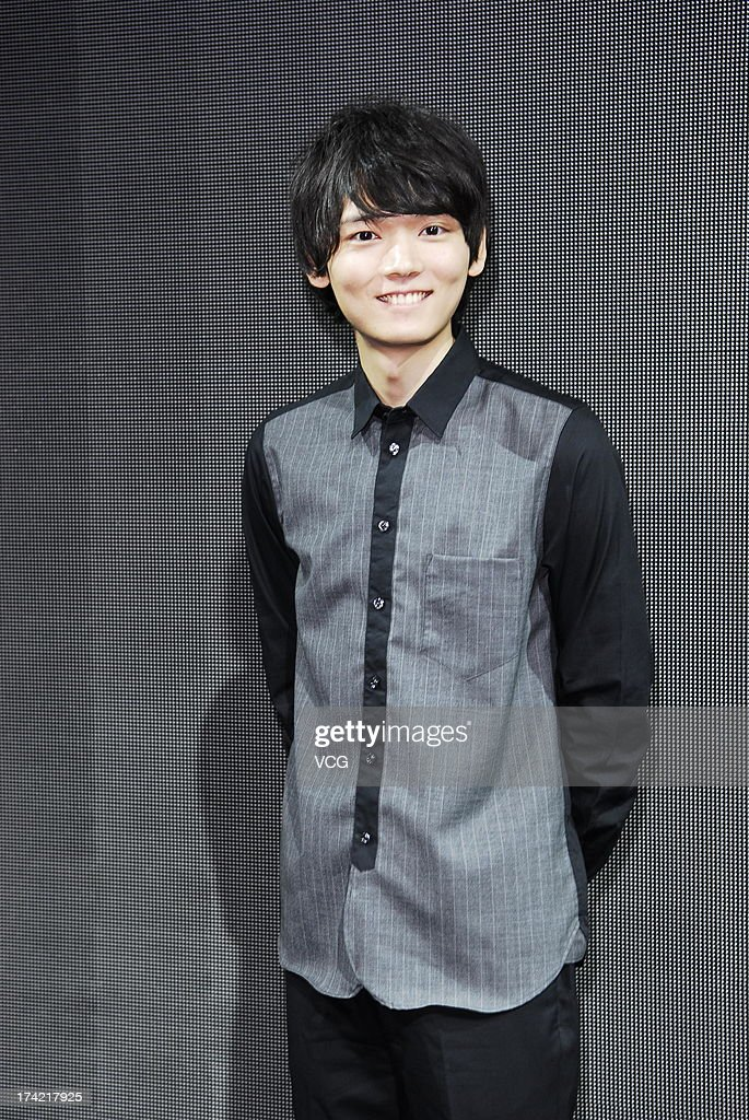 Japanese actor Yuki Furukawa attends a meeting with fans ...Yuki Furukawa 2013