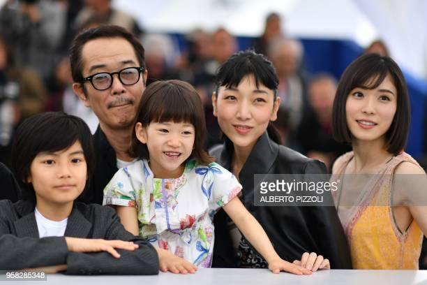 Japanese actress Jyo Kairi Japanese writer and actor Lily Franky Japanese actress Miyu Sasaki Japanese actress Sakura Ando and Japanese actress Mayu...