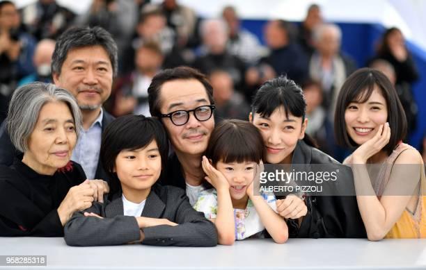 Japanese actress Kirin Kiki Japanese director Hirokazu KoreEda Japanese actress Jyo Kairi Japanese writer and actor Lily Franky Japanese actress Miyu...