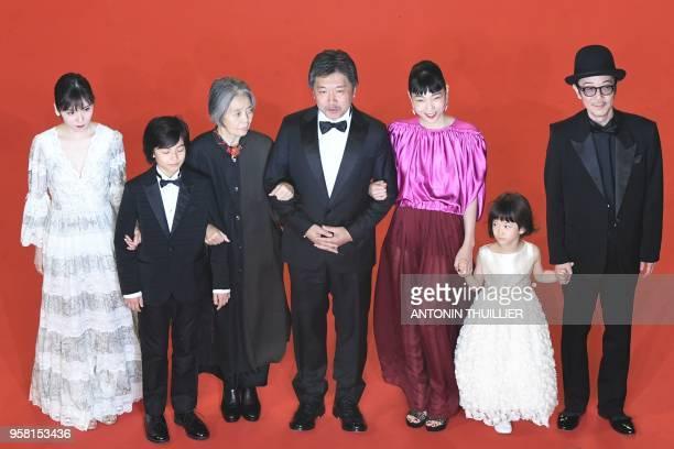 Japanese actress Matsuoka Mayu Japanese actress Jyo Kairi Japanese actress Kirin Kiki Japanese director Hirokazu KoreEda Japanese actress Sakura Ando...