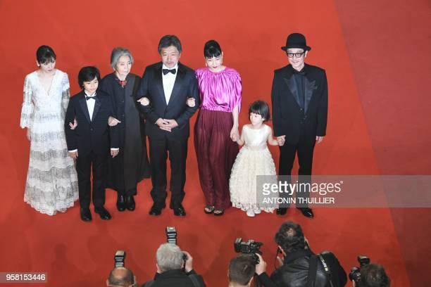 TOPSHOT Japanese actress Mayu Matsuoka Japanese actress Jyo Kairi Japanese actress Kirin Kiki Japanese director Hirokazu KoreEda Japanese actress...