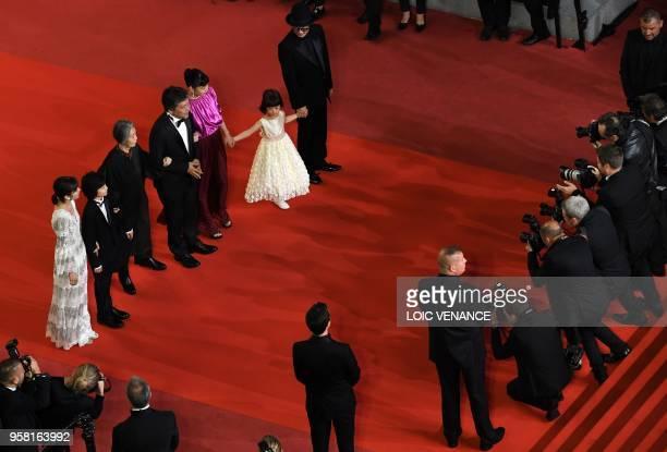 Japanese actress Mayu Matsuoka Japanese actress Jyo Kairi Japanese actress Kirin Kiki Japanese director Hirokazu KoreEda Japanese actress Sakura Ando...