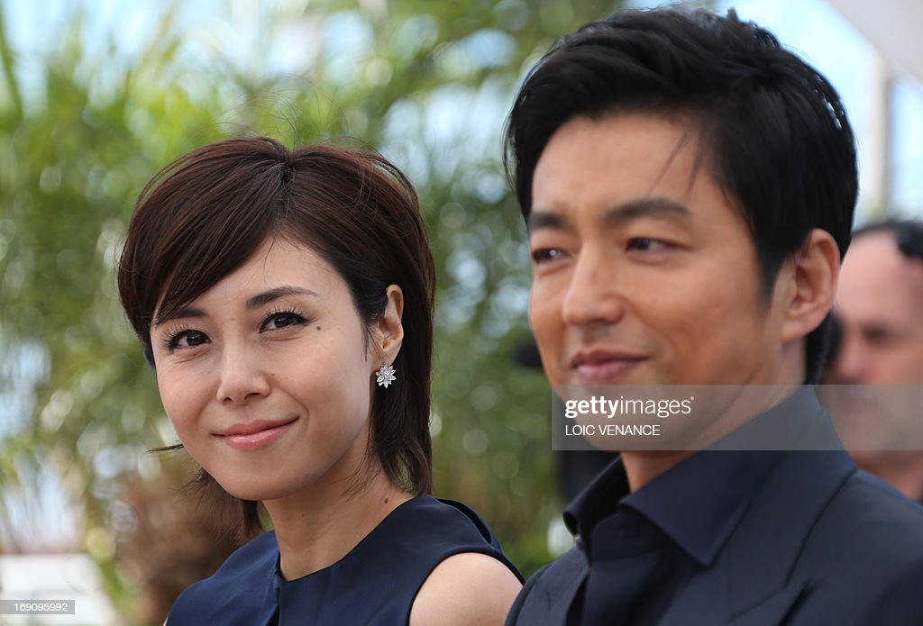 Japanese Actress Nanako Matsushima Poses On May 20 2013 With Fellow News Photo Getty Images