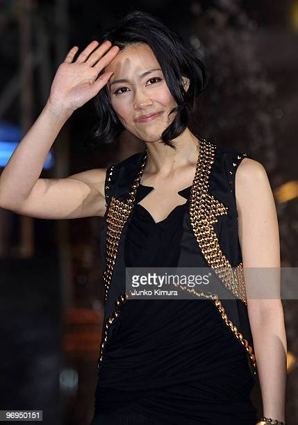 "Japanese actress Yoshino Kimura attends the ""Percy Jackson & The Olympians: The Lightning Thief"" Japan Premiere at Tokyo Dome City on February 22,..."