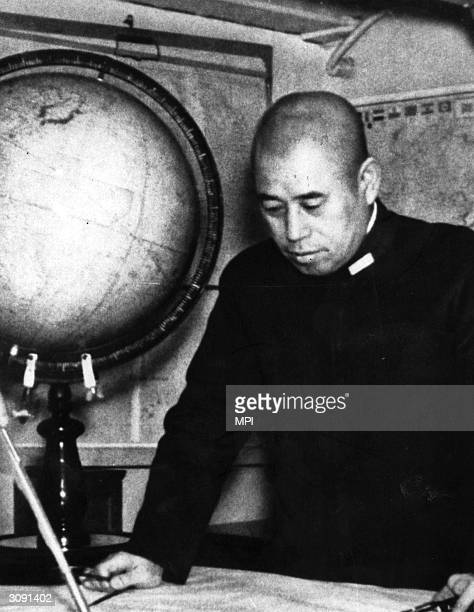 Japanese Admiral Isoroku Yamamoto who died when his plane was shot down over the Solomon Islands