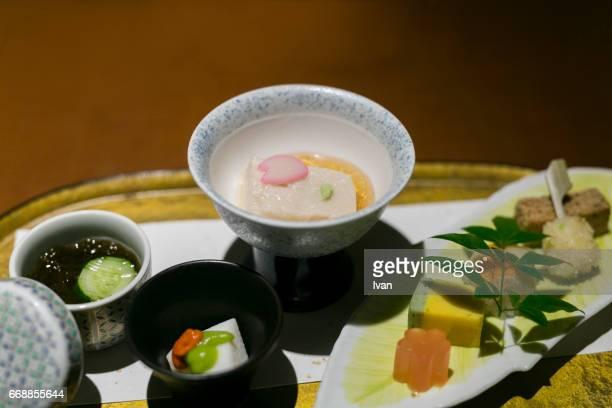 Japanese Appetizer, Kaiseki Cuisine