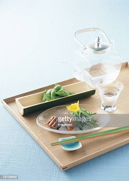japanese appetizers - dog days of summer stock pictures, royalty-free photos & images