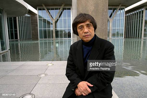 Japanese architect Tadao Ando photographed in front of the Modern Art Museum in Fort Worth Texas Monday November 18 during media preview FILE PHOTO