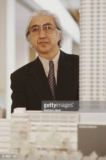 Japanese architect Yoshio Taniguchi who has been selected to redesign the Museum of Modern Art in New York City 13th December 1997