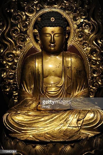 Japanese Art Amida Buddha Japan Edo Period 1701 Ny Carlsberg Glyptotek Copenhagen Denmark