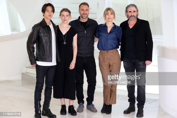 Japanese artist actor singer and dancer Tomohisa Yamashita Scottish actress Katharine O'Donnelly Danish actor Alexandre Willaume Danish actress and...