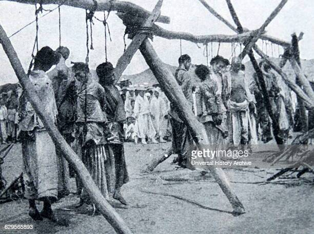 Japanese atrocities in Korea 1900