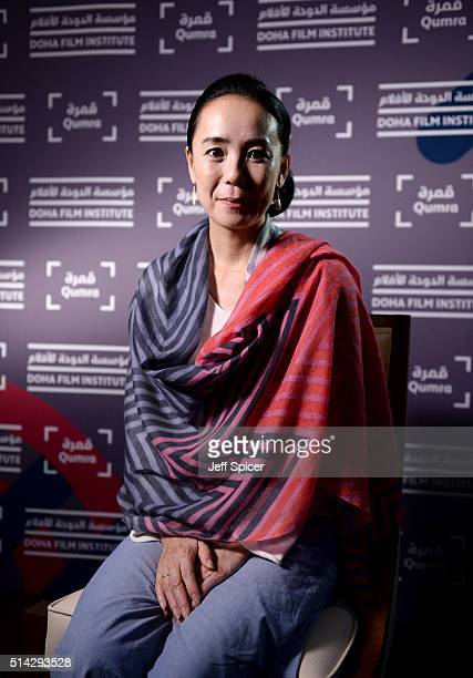 Japanese auteur Naomi Kawase speaks with the Doha Film Institute on day five of Qumra the second edition of the industry event by the Doha Film...