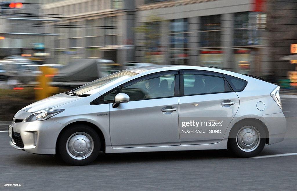 JAPAN-AUTO-TOYOTA-RECALL : News Photo