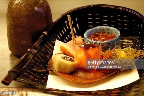 Japanese autumn dish