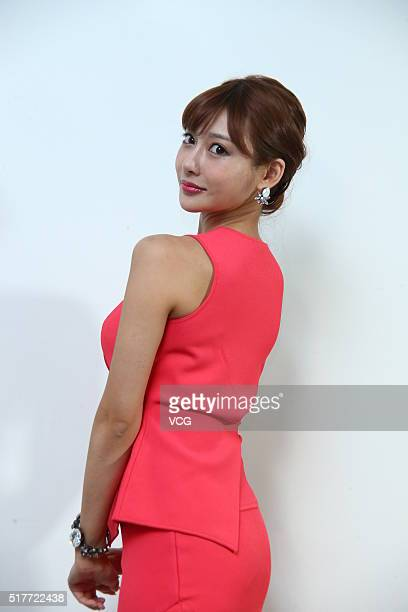 Japanese AV actress Kirara Asuka promotes her photo album on March 26 2016 in Taipei Taiwan of China