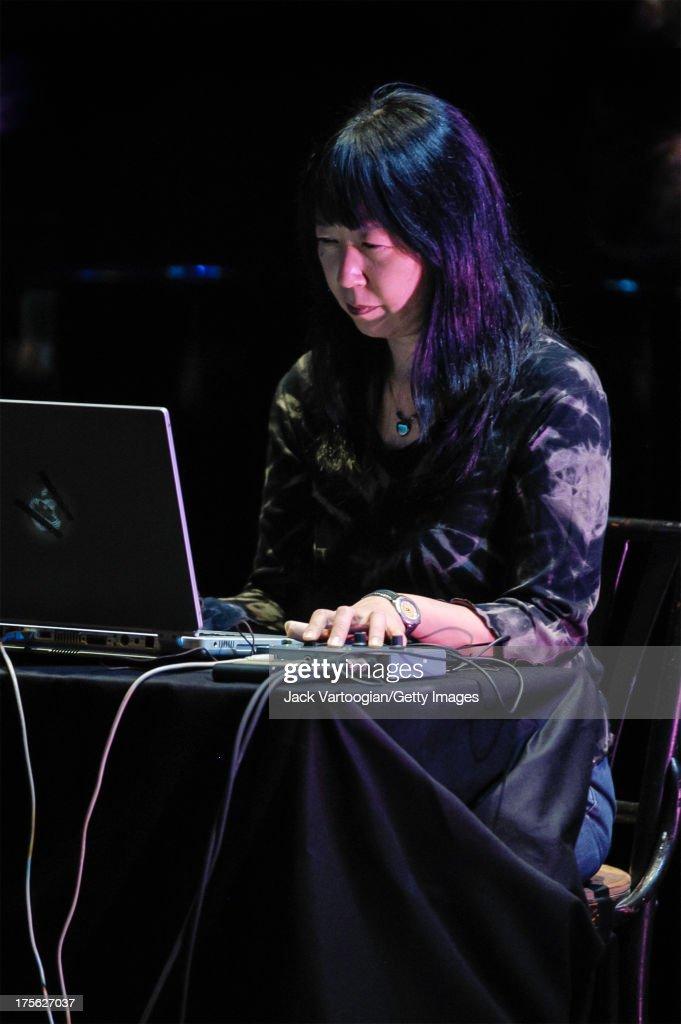 Ikue Mori At La Mama Etc. : News Photo
