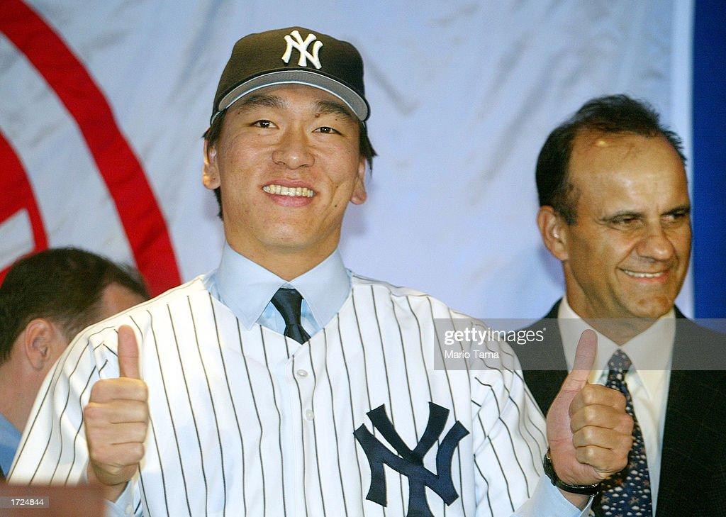 NY Yankees Welcome Hideki Matsui To New York City  : ニュース写真