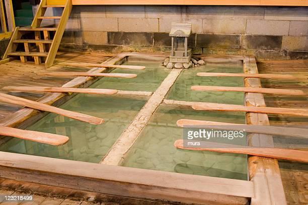 Japanese bath, Kusatsu Onsen