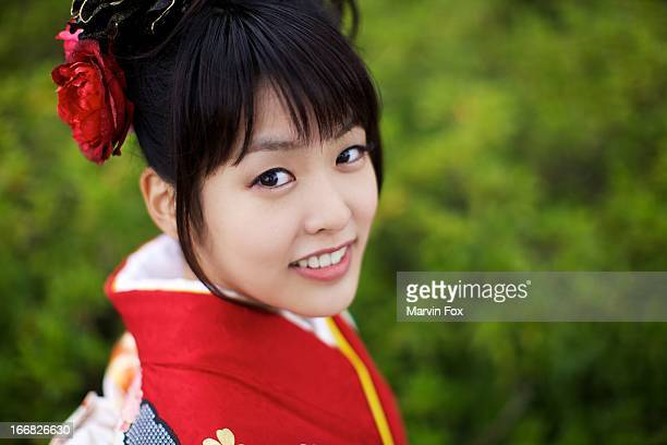 japanese belle - yonago stock photos and pictures