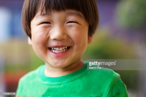 japanese boy's big smile - childhood stock pictures, royalty-free photos & images
