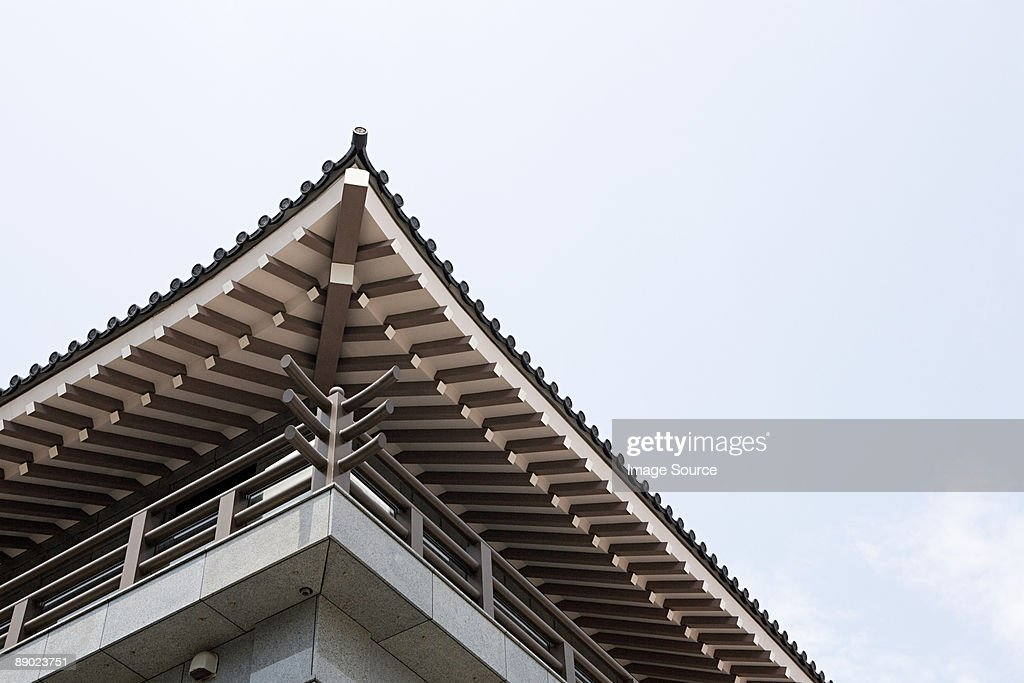 Japanese building : Stock Photo