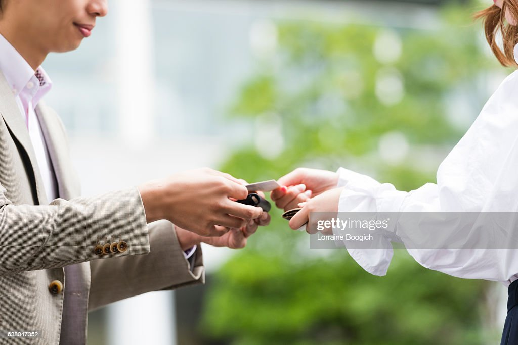 Japanese Etiquette Of Exchanging Business Cards Image collections ...