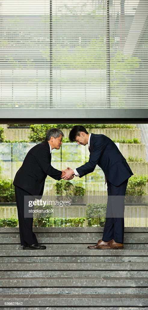 Japanese business customs stock photo getty images japanese business customs stock photo m4hsunfo