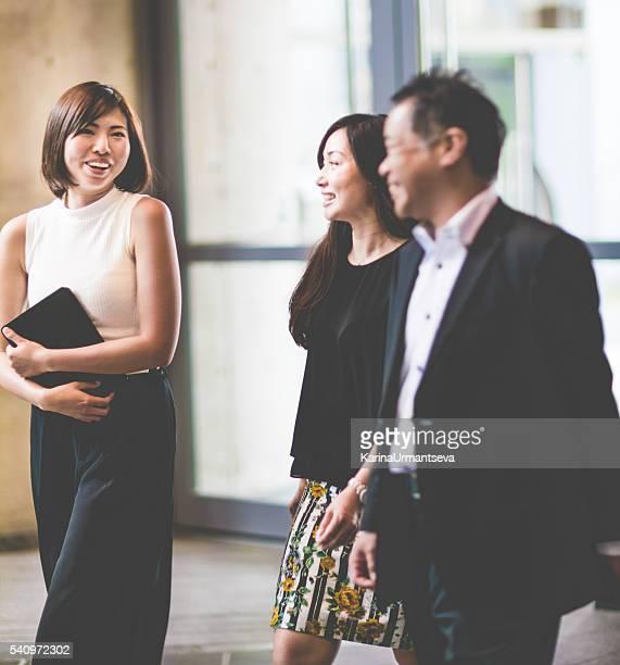 Japonais réunion d'affaires