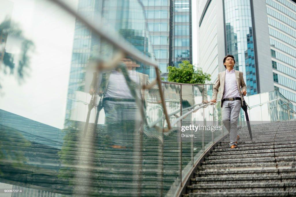東京で仕事に行く日本のビジネス人 : ストックフォト