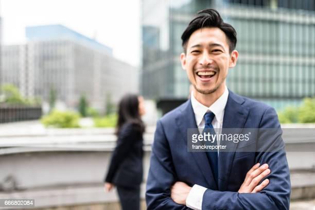 日本のビジネスパーソンがある楽しさと笑い