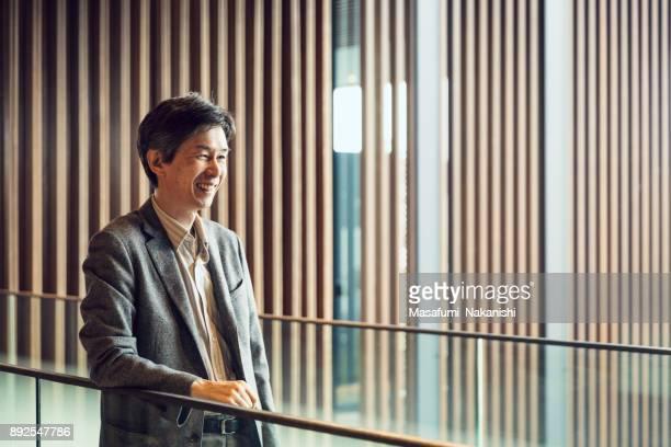日本のビジネスの肖像画 - インタビュー ストックフォトと画像