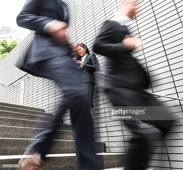 日本事業内で、街の眺望